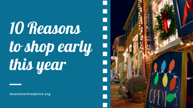 10 Reasons to Shop Early this Year
