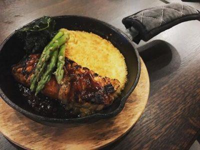BBQ Salmon Entree