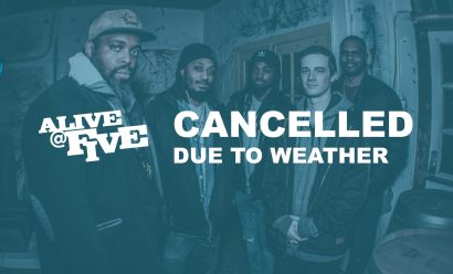 CANCELLED – Alive @ Five | Suga Grits