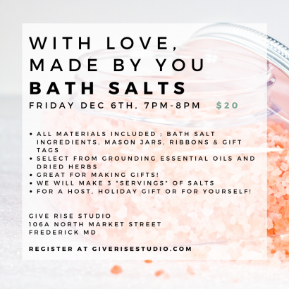 With Love, Made by You : Bath Salts