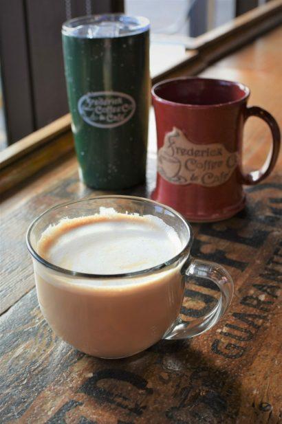 Fall Cocoa Bombs & Pumpkin Lattes @ Frederick Coffee Co & Cafe