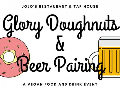 Glory Doughnuts & Beer Pairing