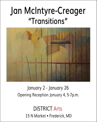 "DISTRICT Arts presents ""TRANSITIONS"""