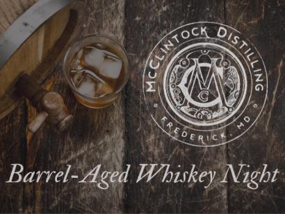 McClintock Barrel-Aged Whiskey Night at JoJo's