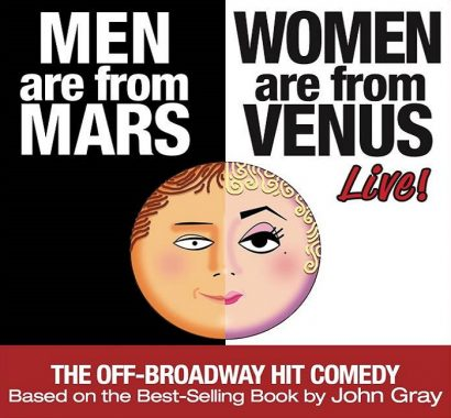Men Are From Mars—Women Are From Venus LIVE!