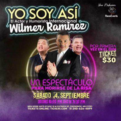 """Stand Up Comedy Show """"Yo Soy Así"""" w/Wilmer Ramirez @ New Spire Arts Stages"""