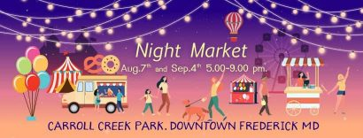 The Night Market on First Saturday