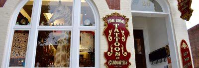 Time Bomb Tattoos & Curiosities