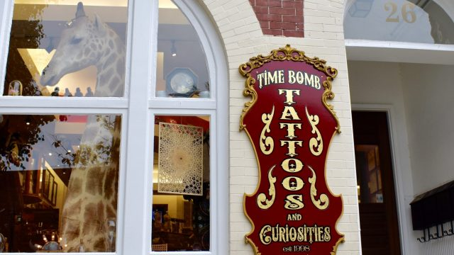 Time Bomb Tattoos & Curiosities