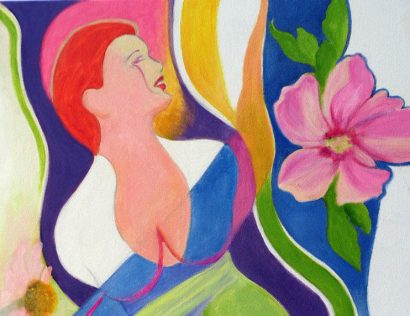 "Joanna Morrison's ""Flowers and Figures"""