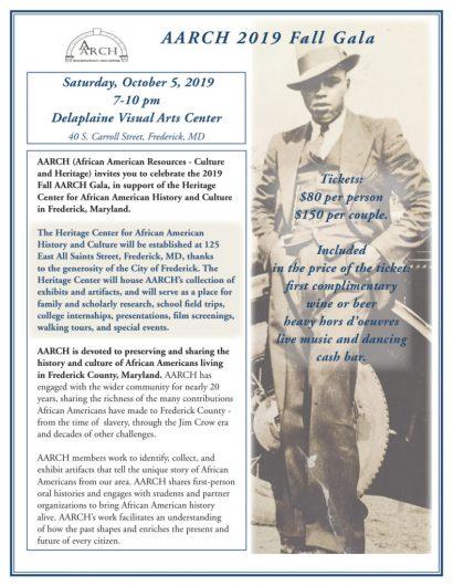 African American Heritage Society Fall Gala