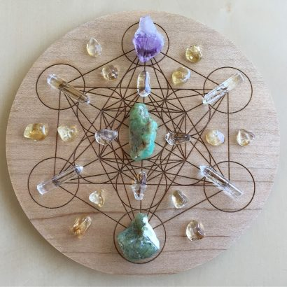 Get Stoned! Crystal Grid Reading Party