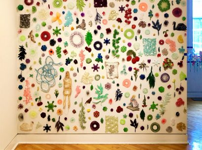 """""""Embroidered Spaces"""" exhibition at the Delaplaine"""