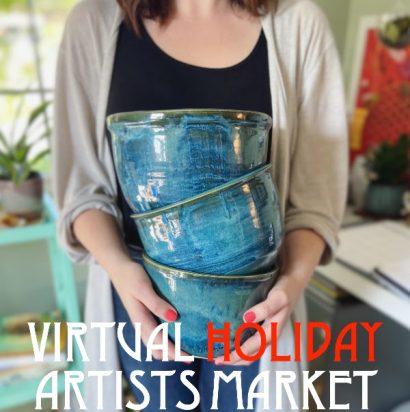 Virtual Holiday Artists Market
