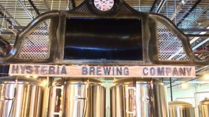 Hysteria Brewing Company Beer Tasting