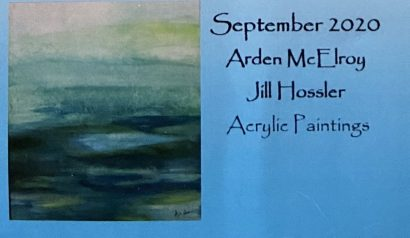 Arden McElroy & Jill Hossler at Eastside Artists' Gallery