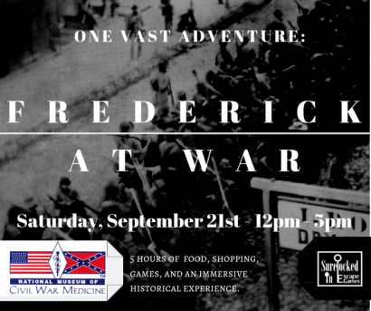 One Vast Adventure – Frederick at War