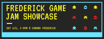 Frederick Game Jam Showcase