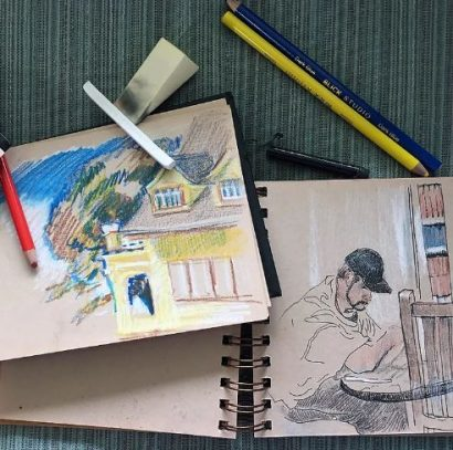"""Summer Group Show, """"Sketchbook"""""""