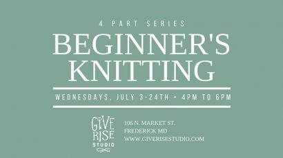 Beginner's Knitting :: 4 Week Series