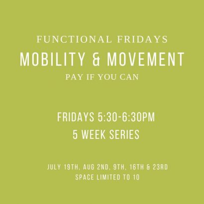 Mobility and Movement