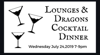 Lounges & Dragons Cocktail Dinner