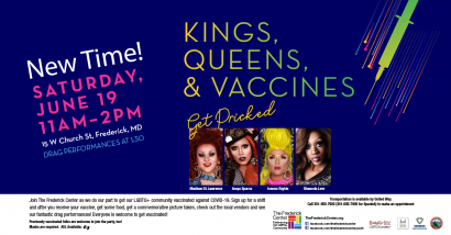 Kings, Queens & Vaccines