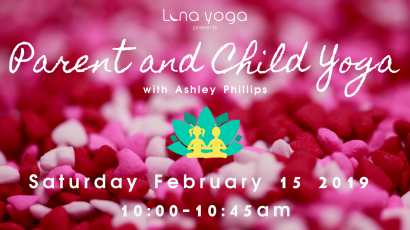 Parent and Child Yoga (valentines)
