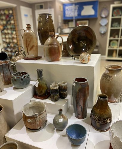 Wood Fired Pots at the Potters' Guild of Frederick