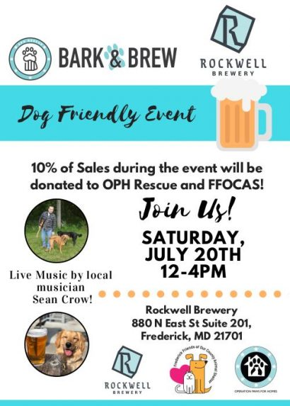 Bark and Brew Day at Rockwell