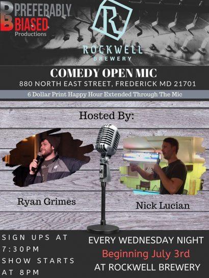 Wednesday Ope Mic Comedy Night