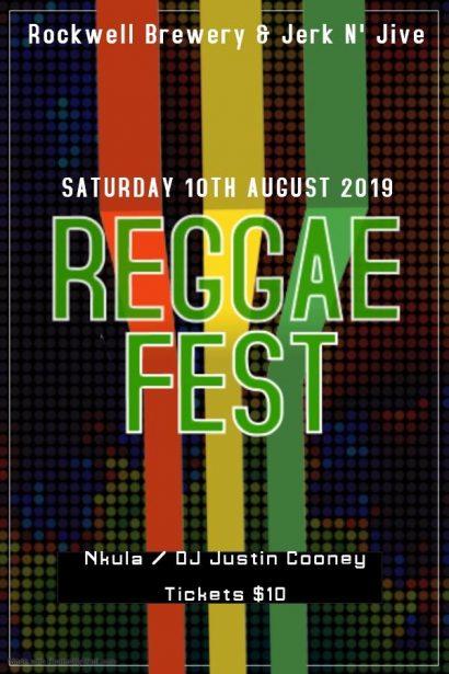 Rockwell and Jerk n' Jive Present Reggae Fest 2019