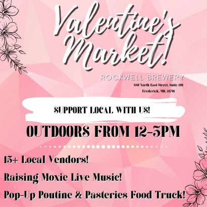 Valentine's Market at Rockwell Brewery