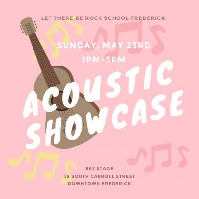 Acoustic Showcase by Let There Be Rock School of Frederick