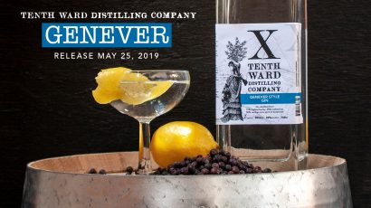 Genever Release at Tenth Ward