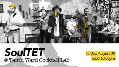SoulTET at the Tenth Ward Cocktail Lab