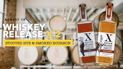 Whiskey Release x 2! Smoked Bourbon & Stouted Rye