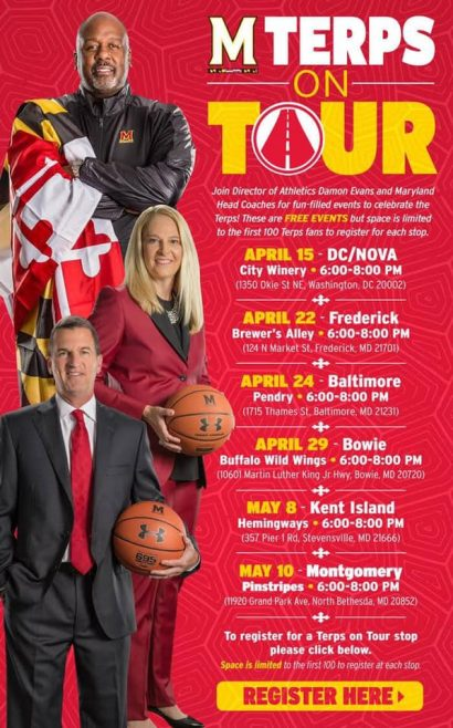 Terps on Tour in Frederick, MD