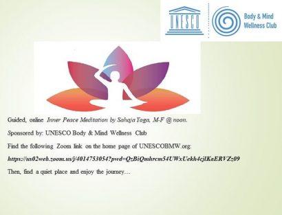Inner Peace Online Meditation