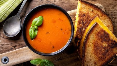 Kids Cooking Class: Grilled Cheese and Tomato Soup