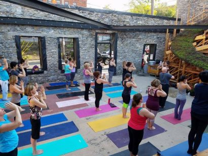 Yoga at Sky Stage
