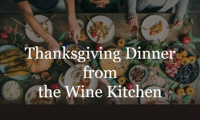 Thanksgiving Dinner from the Wine Kitchen