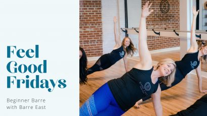 Beginner Barre with Barre East • Feel Good Fridays
