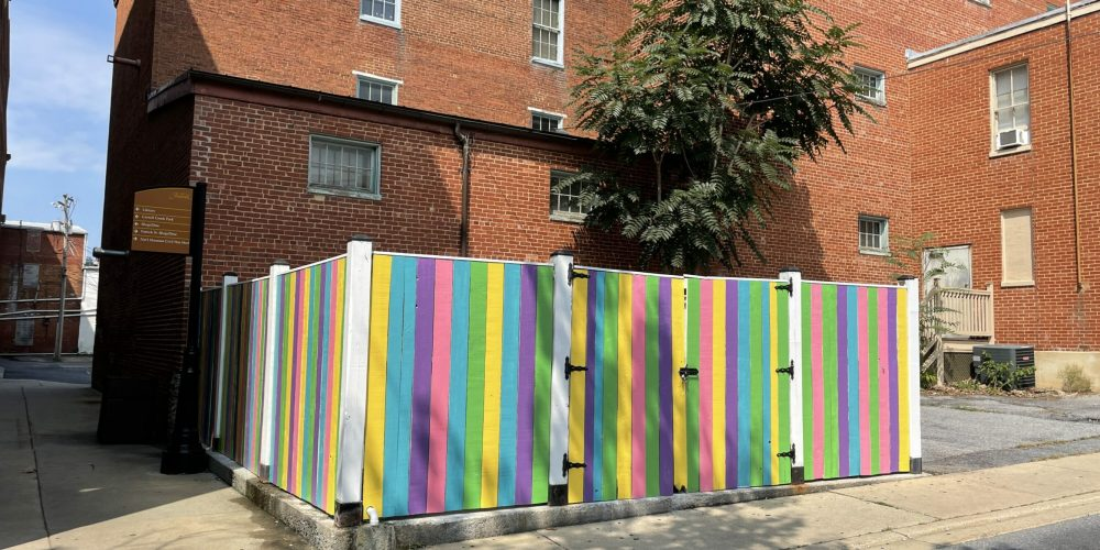 Maxwell Ave Fence in Downtown Frederick