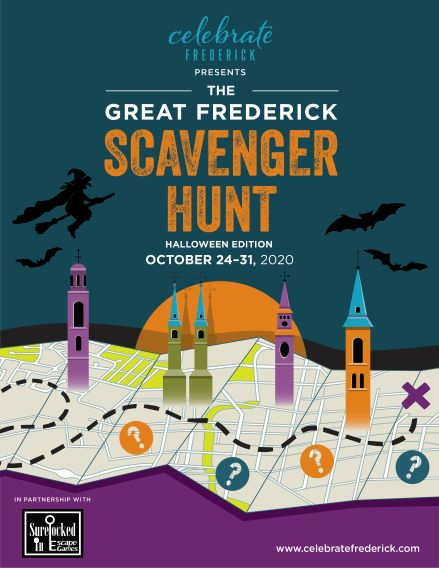 When Is Halloween Celebrated In Frederick Md 2020 Great Frederick Scavenger Hunt: Halloween Edition • Downtown